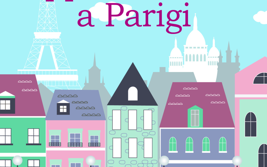 Cover for the Italian Version of A PARIS APARTMENT!