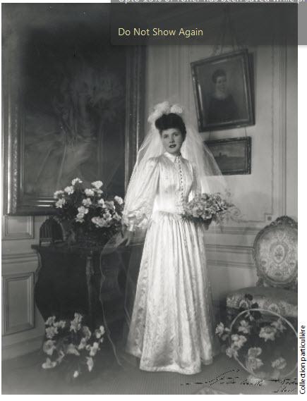 Marthe De Florian Wedding Day Michelle Gable Writer