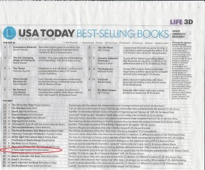 USA Today Bestseller-post