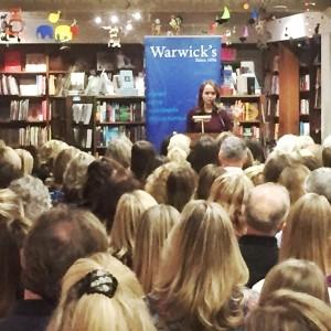 Fantastic Crowd at Warwick's